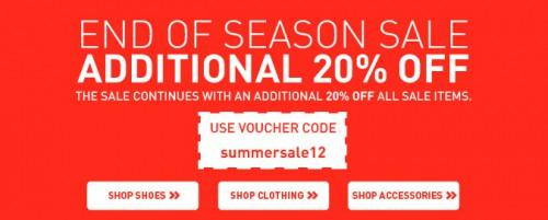 Puma: 20% Extra-Rabatt im End of Season-Sale durch Gutscheincode