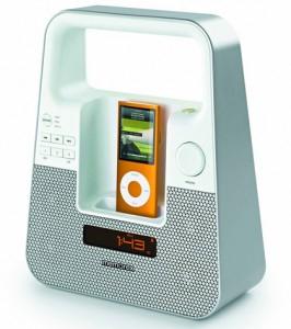 Tragbarer iPod- und iPhone-Lautsprecher Memorex M10127 für 35,90 €