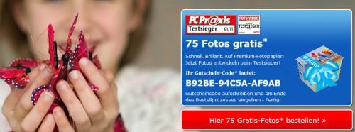 75 Fotoabzüge für 0 € + 1,95 € Versand für Pixum-Neukunden - 50 Abzüge für Bestandskunden