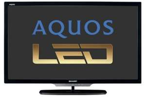 Sharp Aquos LC-46LE542E (LED-Backlight, Triple-Tuner, Smart TV) für 699 €