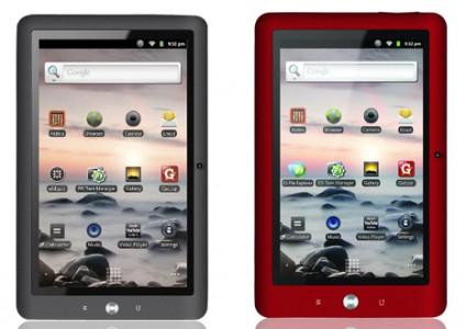 Android-Tablet Coby Kyros MID1125 für 109 € - 21% Ersparnis *Update* jetzt für 109,80 €