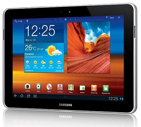 Samsung Galaxy Tab 10.1N P7501 3G + WiFi 32GB für 399 Euro inkl. Versand
