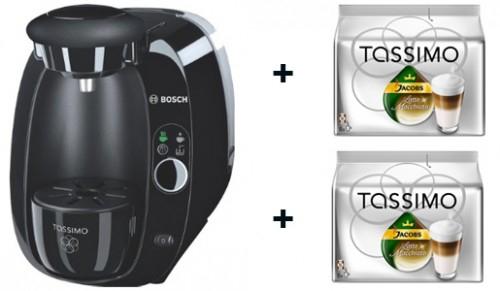 Bosch Tassimo TAS2002 + 16 Portionen Latte Macchiato für 49,99 € - 29% sparen