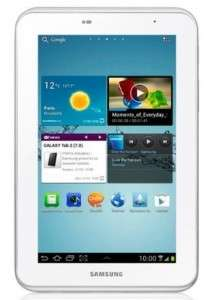 Samsung Galaxy Tab 2 (7 Zoll, WiFi, 8 GB) für 204 € bei Amazon Italien