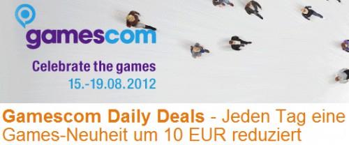 Gamescom Daily Deals bei Amazon - 10 € Rabatt auf Spiele-Neuheiten