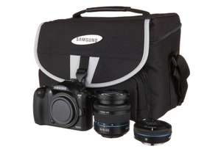 Digitale Systemkamera Samsung NX11 mit 2 Objektiven und Tasche für 399 € *Update* wieder erhältlich