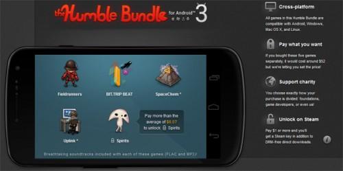The Humble Bundle for Android 3 – 4 Indie Games zum selbstgewählten Preis kaufen
