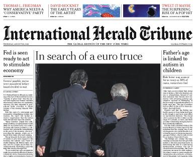 International Herald Tribune vier Wochen kostenlos lesen - keine Kündigung nötig