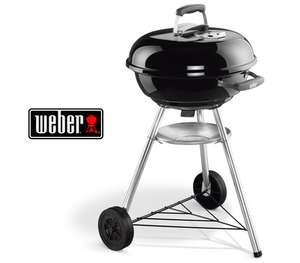 Holzkohlegrill Weber Compact Kettle (47 cm) für 53,89 € im Dealclub