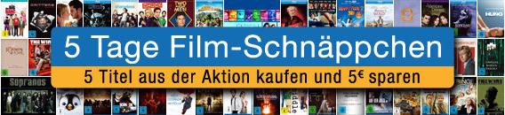 Amazon: 5 Tage Film-Schnäppchen - z.B. Blu-rays ab 7,97 € oder Sopranos-Box für 49,97 € *Update*