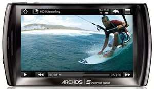 Multimedia-Player Archos 5 Internet Tablet für 66 € - 27% Ersparnis *Update* jetzt ab 59 €