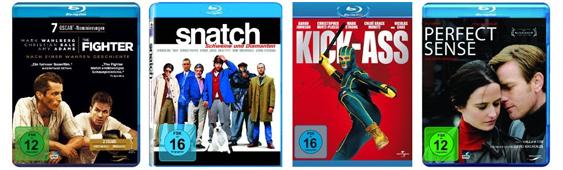 DVD- und Filmangebote bei Amazon - z.B. 3 Blu-rays für 25 € oder 2 Blu-rays für 18 €