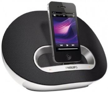 Philips DS3100/12 - iPhone- und iPod-Dockingstation für 55,55 € - 14% sparen