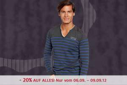 C&A Österreich: 20% Rabatt auf das gesamte Sortiment