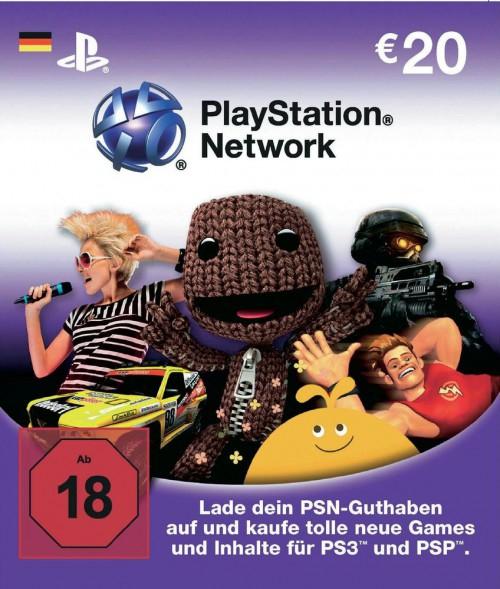 40 Euro Playstation Network Card für 32 Euro
