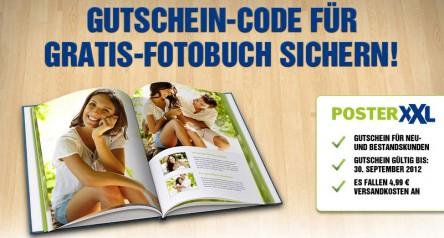 Hardcover-Fotobuch von PosterXXL mit 36 Seiten für 4,99 € statt 19,99 €