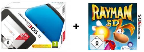 Amazon: Nintendo 3DS XL für 177 € und 10 € Rabatt beim Kauf eines Spiels