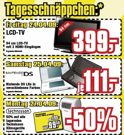 Nintendo DS Lite für 111€ bei Cosmos Österreich