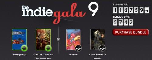 The Indie Gala Bundle 9 - Indie Games zum selbst gewählten Preis - z.B. Worms Blast & Baphomets Fluch