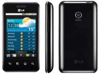 Einsteiger-Smartphone LG E720 Optimus Chic für 99 €