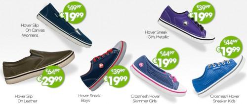 Crocs: Sale mit bis zu 60% Rabatt auf die Hover-Serie & bis zu 25% sparen mit Gutschein
