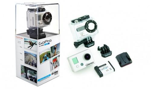 Action-Kamera GoPro HD Naked HERO für 149 € - 17% Ersparnis
