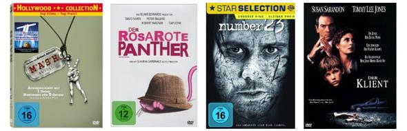 Film- & Serienangebote bei Amazon - z.B. 6 DVDs für 20 € oder 3 Blu-rays für 21 €