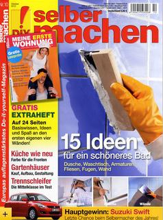 """Jahresabo der Heimwerker-Zeitschrift """"selber machen"""" mit 3 € Gewinn"""