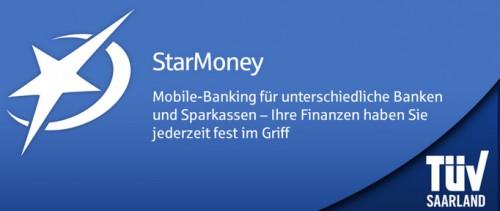 StarMoney Mobile Banking für Android heute kostenlos statt 3,99 € bei Amazon