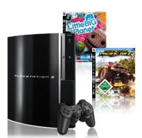PlayStation 3 80GB mit Motorstorm und Little Big Planet für 348€