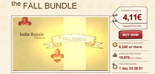 Spiele-Schnäppchen: The Indie Gala X und Indie Royale Fall Bundle