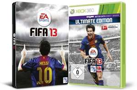 FIFA 13 Ultimate Steelbook Edition (Xbox 360, PS3) für 52,97 € - bis zu 36% sparen *Update*