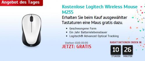 31 Jahre Logitech: Wireless Mouse M235 gratis zu ausgewählten Tastaturen