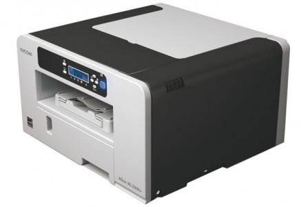 Gel-Drucker Ricoh Aficio SG 2100N mit Netzwerk-Anbindung für 19,90 € - 43% Ersparnis