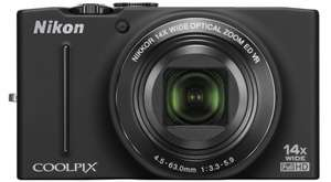 Digitalkamera Nikon Coolpix S8200 (16 MP, 14x opt. Zoom) für 159 € – 16% Ersparnis