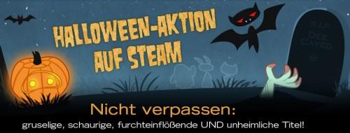 Halloween-Sale bei Steam mit bis zu 75% Rabatt auf ausgewählte Spiele