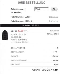 Super! 50% Rabatt auf den teuersten Artikel im Warenkorb bei H&M und zusätzlich 5 € sparen *Update* jetzt 25%