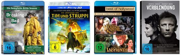 Goldener Film-Herbst bei Amazon mit günstigen Filmen und Serien
