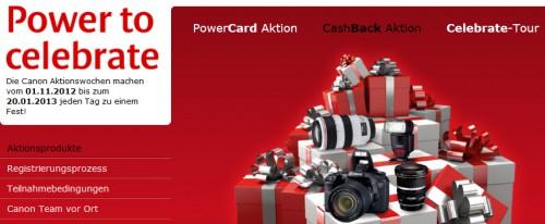 Canon: bis zu 200 € Cashback auf ausgewählte Kameras und Zubehör