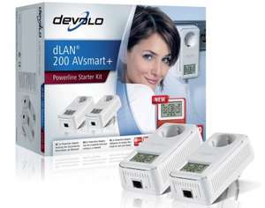 Amazon: 10% Rabatt auf Devolo-Produkte - z.B. dLAN 200 AVsmart+ Starter Kit für 62,10 € statt 86,43 €