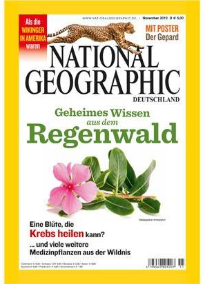 Jahresabo der National Geographic für effektiv 9,60 € durch Bargeldprämie