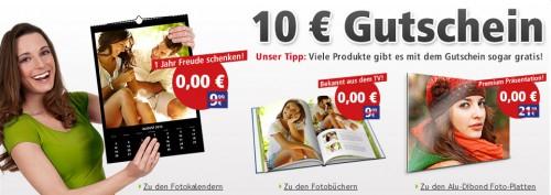 PosterXXL: 10 € Gutschein ohne MBW für Neu- und Bestandskunden - z.B. Fotokalender 5,99 €
