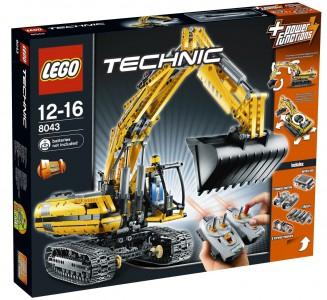 Lego Technic Motorisierter Raupenbagger (8043) für 139 € - 10% Ersparnis