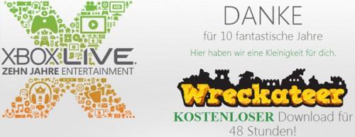 """10 Jahre Xbox Live - Kinect-Spiel """"Wreckateer"""" kostenlos herunterladen"""
