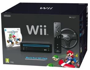 Nintendo Wii im Mario Kart Pack für 99,95 € bei Hartlauer - 28% Ersparnis