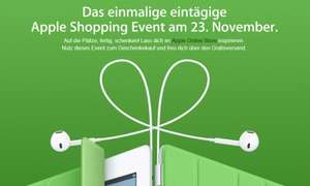 Black Friday-Angebote bei Apple am 23. November *Update*