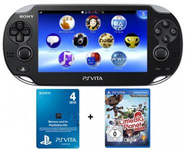 Top! Sony PlayStation Vita (3G + WiFi) + Little Big Planet + Speicherkarte für 200 € statt 270 €