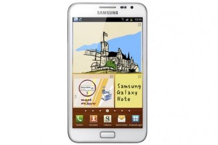 Samsung Galaxy Note N7000 für 329,40 € - 13% Ersparnis