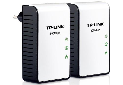 Powerline-Adapter-Set TP-Link AV500 Mini für 33 € bei Amazon - 14% Ersparnis