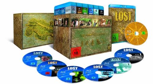 Lost - Die komplette Serie auf Blu-ray ab 73,58 € bei Amazon oder für 49 € aus UK